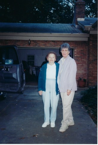 Mom and Aunt Mary Jane